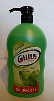 Жидкое мыло для рук Gallus Яблуко 1 литр Германия