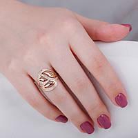 Золотое кольцо ажурное КП1493