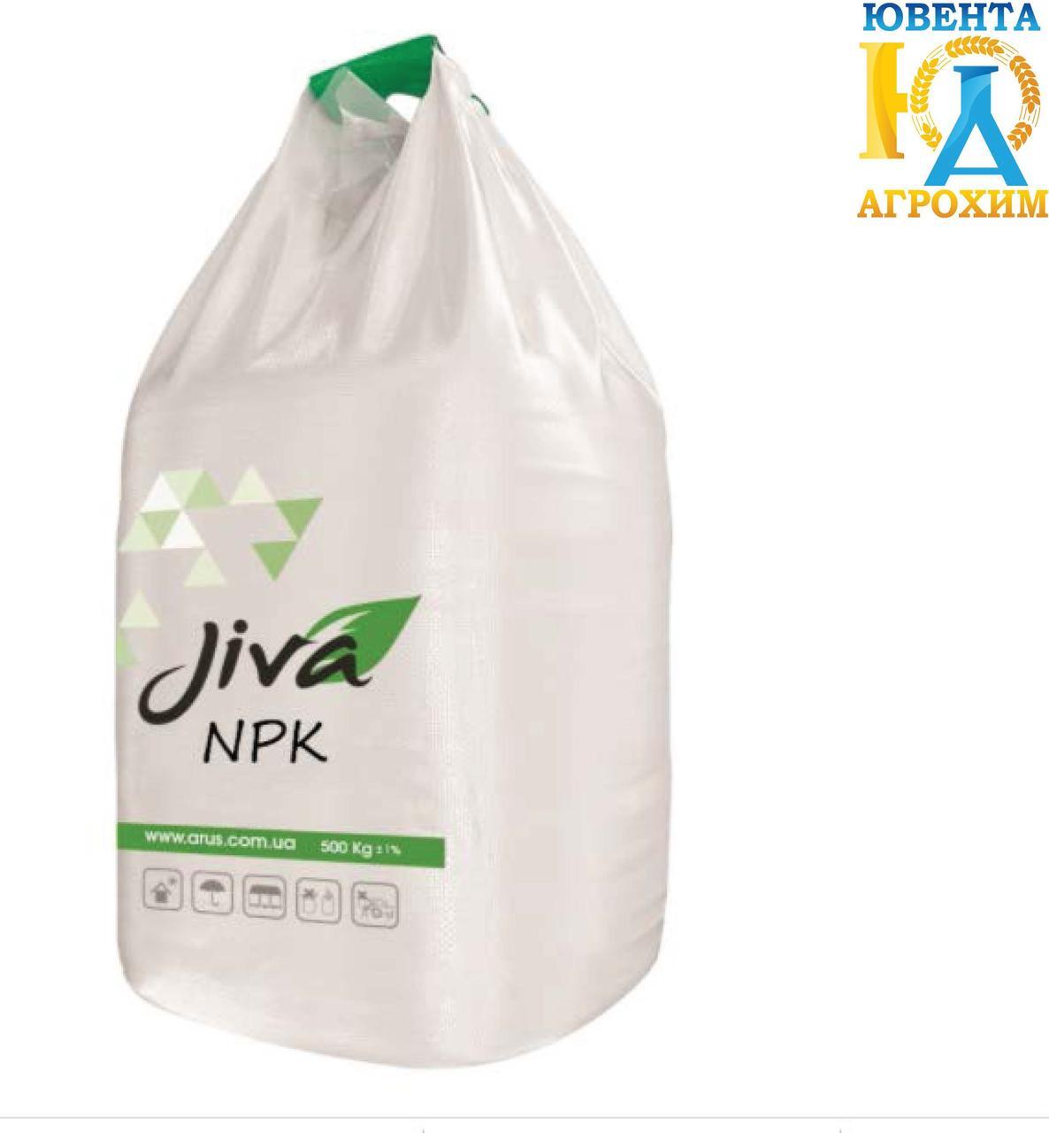 JIVA NPK 13-25-5+10(SO3) + 0.5 Zn  (500-1000 кг)