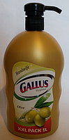 Жидкое мыло для рук с дозатором Gallus Olive 1 литр Германия