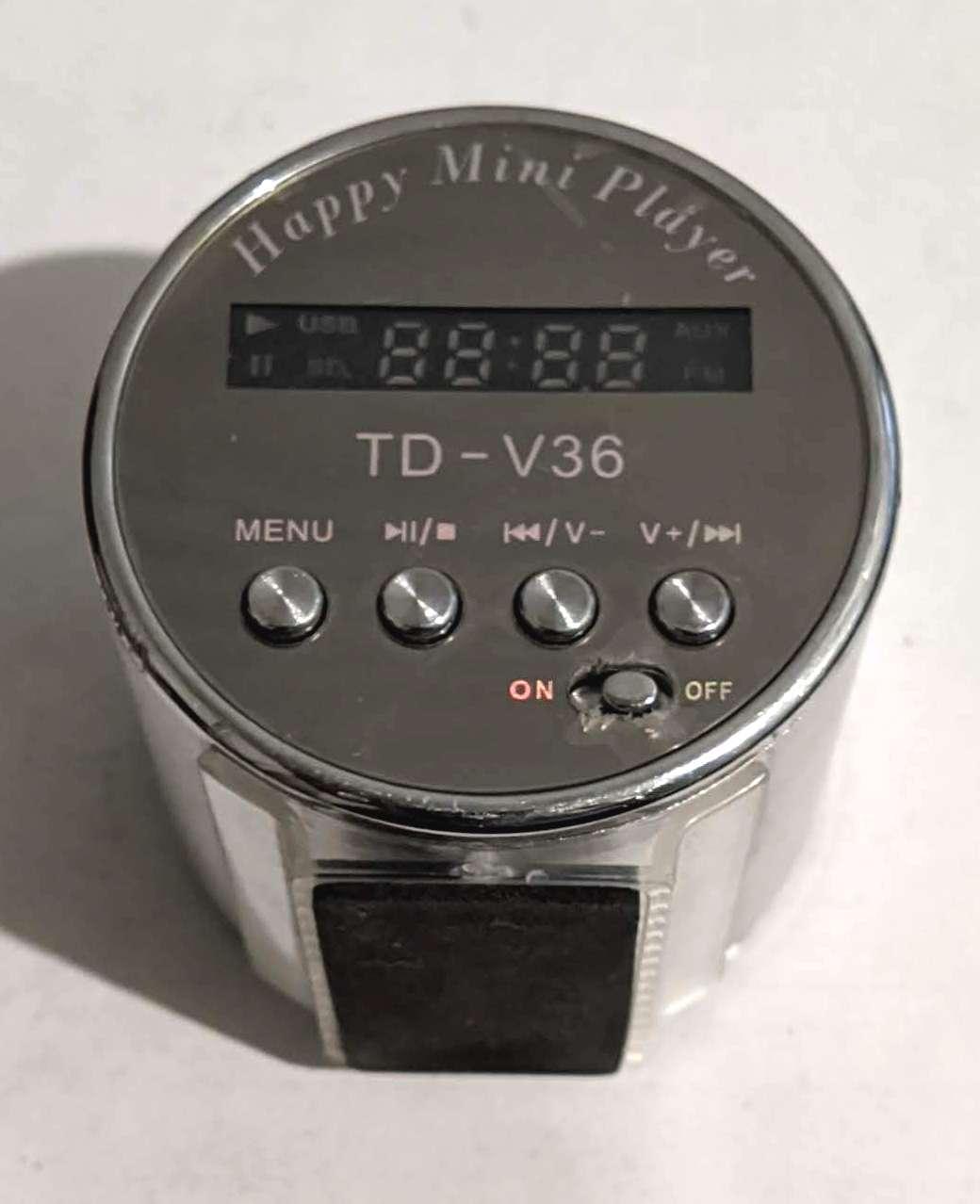 Портативна колонка, радіоприймач (USB/SD/FM) TD V-36