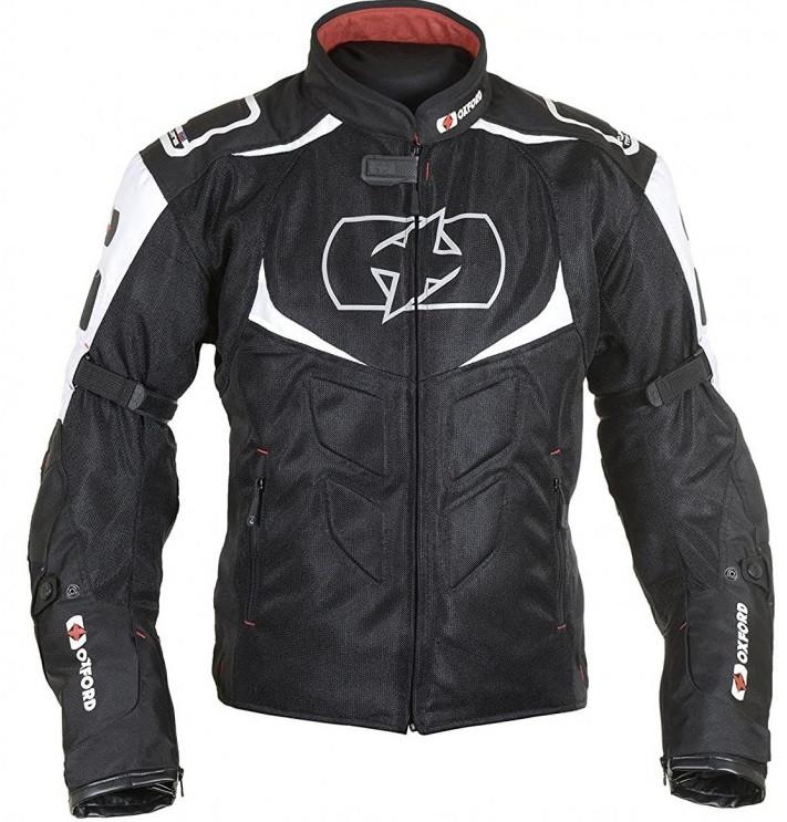 Мотокуртка текстильная Oxford Melbourne 2.0 Air MS черный/белый, XL/44