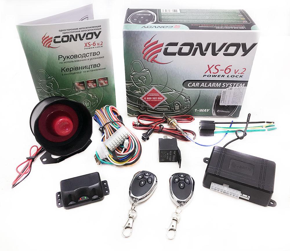 Автосигнализация Convoy XS-6 v.2