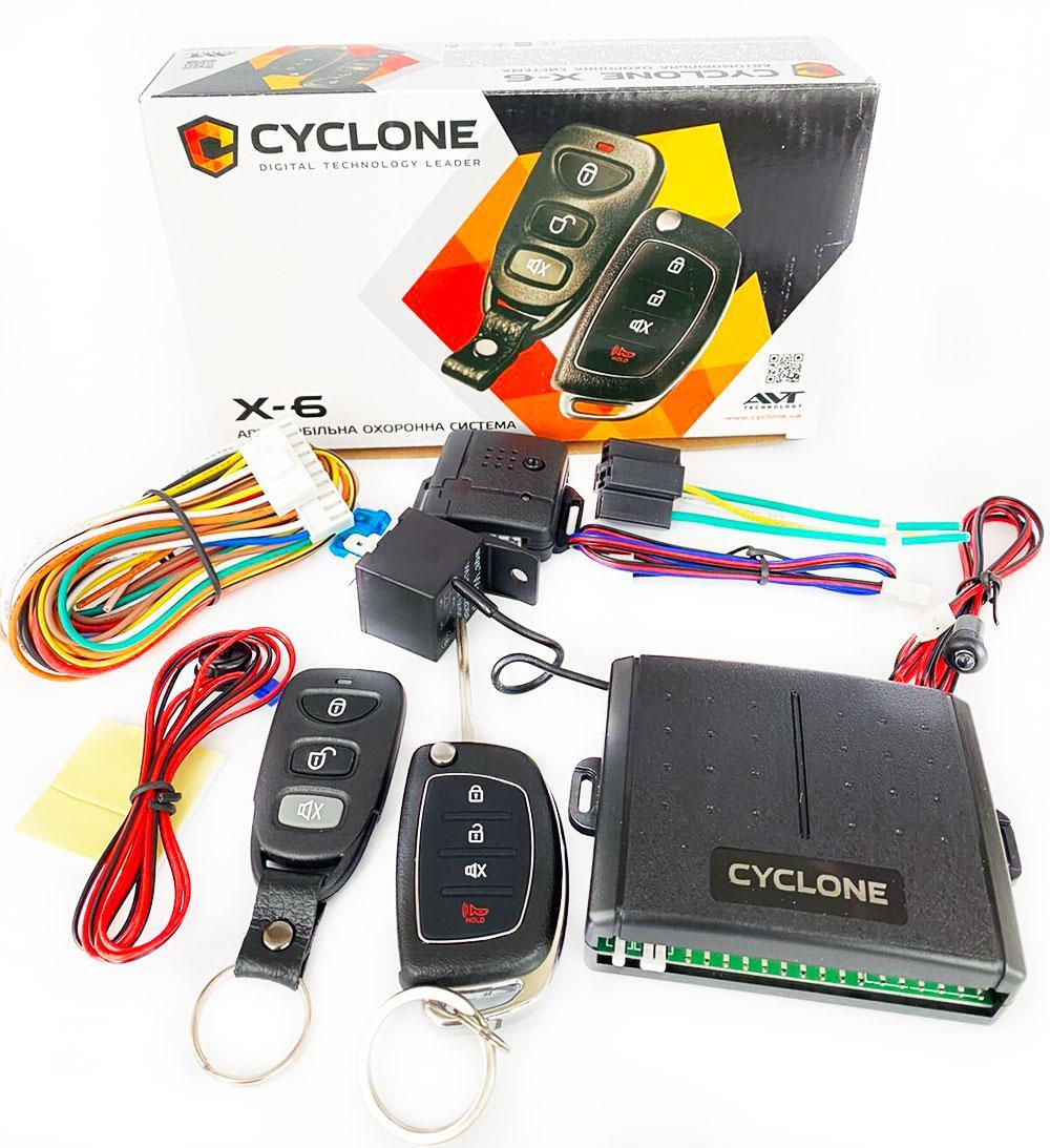 Автосигнализация Cyclon X6
