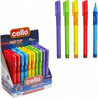 Ручка-самоучка для лівшів, масляна синя CELLO Left