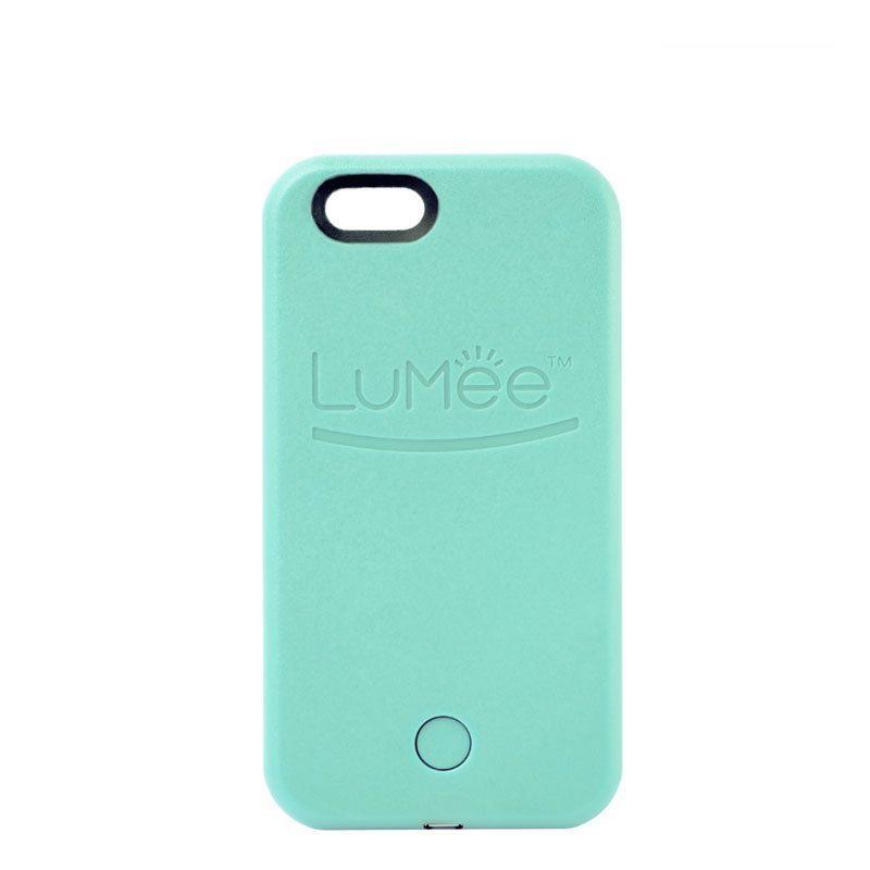 Чехол LuMee для iPhone 6 Plus/6S Plus Turquoise (LMC001G6P)