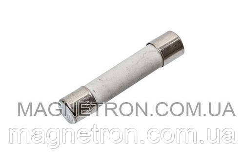 Универсальный предохранитель для микроволновой печи 6,3A 250V (керамический)