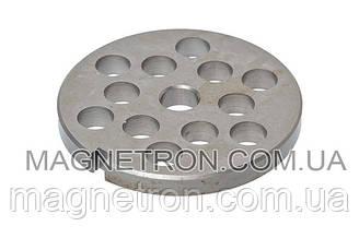 Решетка (сито) крупная 8mm для мясорубки Braun 67000909 (с пазом)