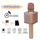 Караоке микрофон MicGeek Q10s Розовое золото Оригинал (05), фото 5