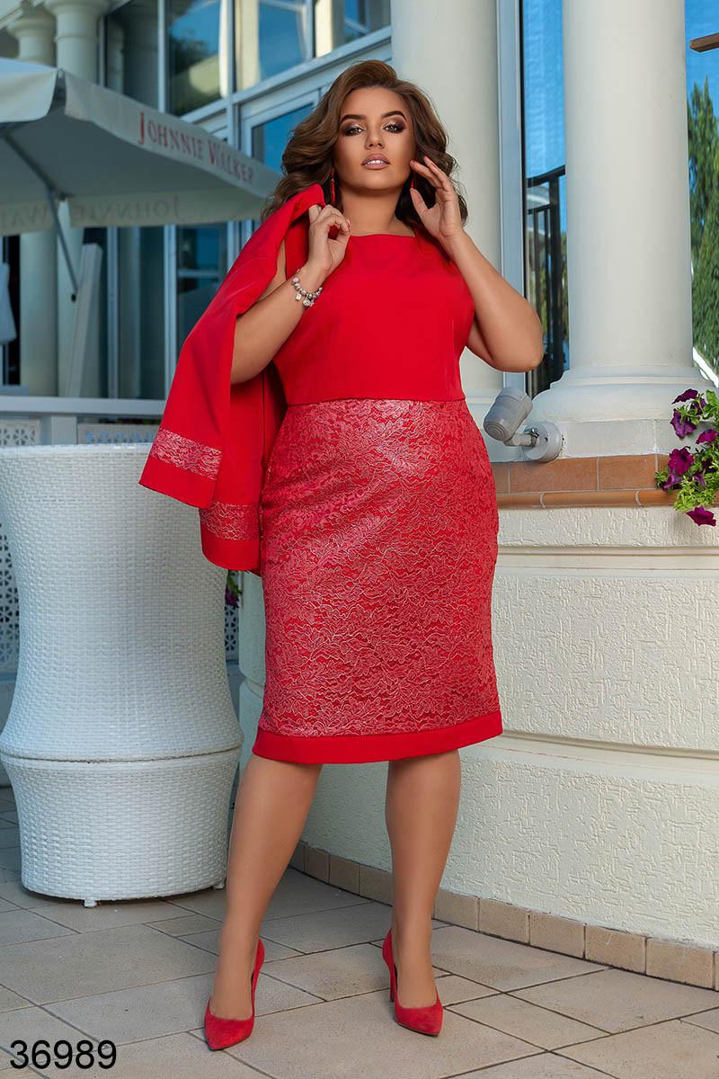 Вечернее платье с серебряным напылением + жакет р. 50-52, 54-56, 58-60
