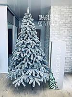Ялинка Президентська покрита снігом/Литая ель покриття снегом/Лита ялинка з штучним снігом 2.1 м