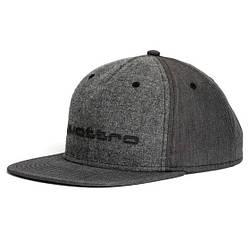 Бейсболка Audi quattro Unisex Cap, Flat Brim, Grey, артикул 3131700800