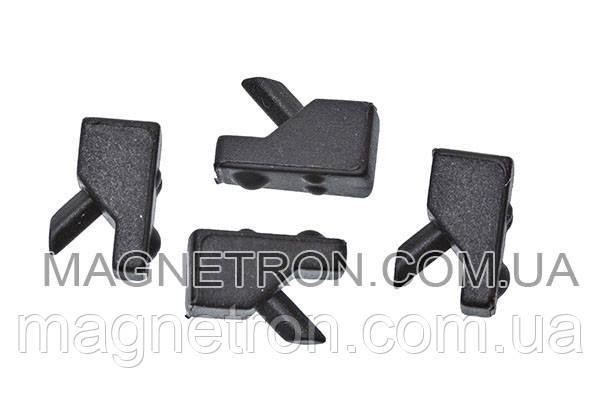 Набор резиновых прокладок (4шт) для решетки плиты Whirlpool 484000000840, фото 2