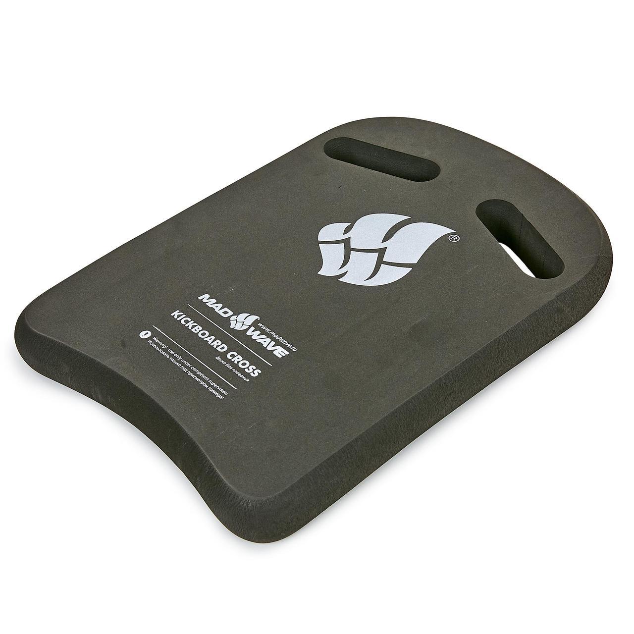 Доска для плавания MadWave CROSS (EVA, р-р 27,5x40x4см, цвета в ассортименте)