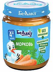 Пюре морква Беллакт (Білорусь) з 4 місяців 100 гр
