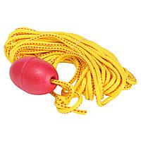Канат для спасения людей с поплавком безопасности FOX40 (полипропилен, длина 15м, желтый)