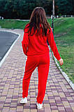 Cпортивный костюм двойка кофта на молнии+штаны ткань двухнить размер:универсал 48-50, фото 2