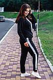 Cпортивный костюм двойка кофта на молнии+штаны ткань двухнить размер:универсал 48-50, фото 4