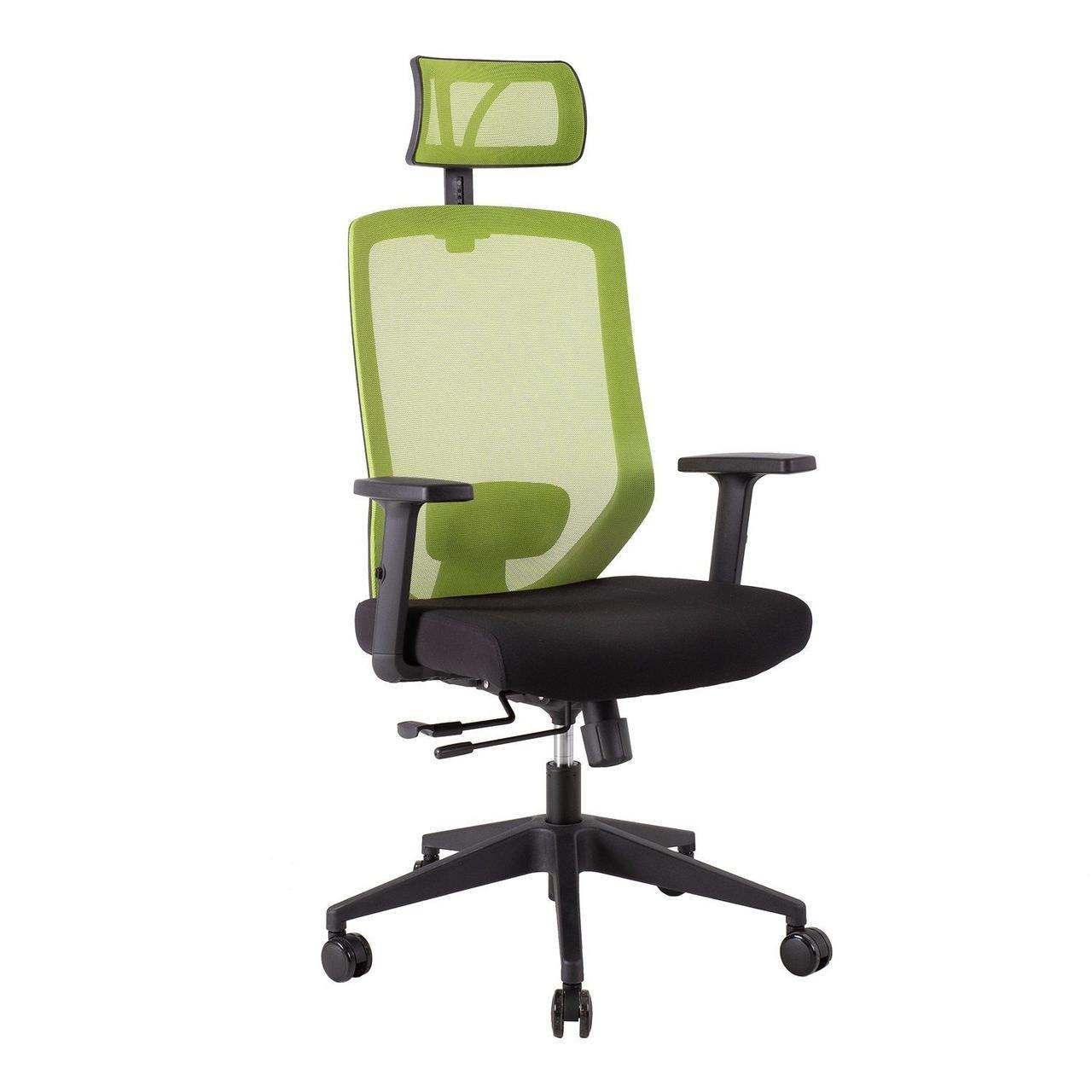 Крісло офісне JOY black-green