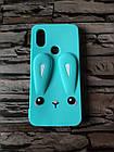 Чохол гумовий 3D Rabbit для Xiaomi Mi A2 / mi 6X (3 кольори), фото 3