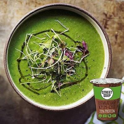 Крем-супи, каши