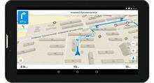 GPS навігатор Shuttle PNT-7045, екран 7 дюймів