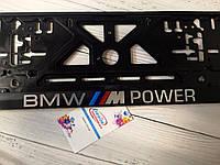 Авторамка з обьемными літерами BMW M Power, фото 1