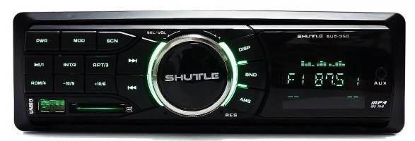 Автомагнитола SHUTTLE SUD-350 Black/Green