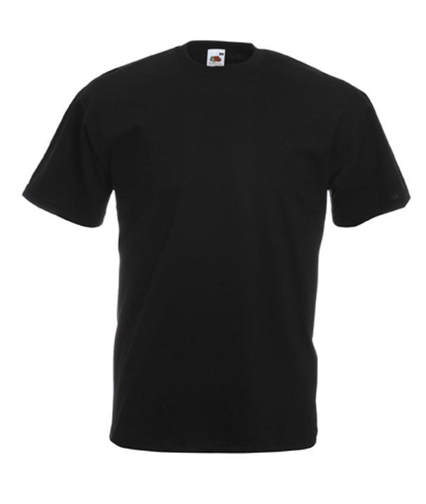 Футболка мужская черная Fruit of the Loom - Интернет-магазин «Superfamily» - одежда и подарки для всей семьи! в Одессе