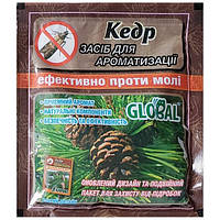 Таблетки от моли Global Кедр 2шт. х 60г.