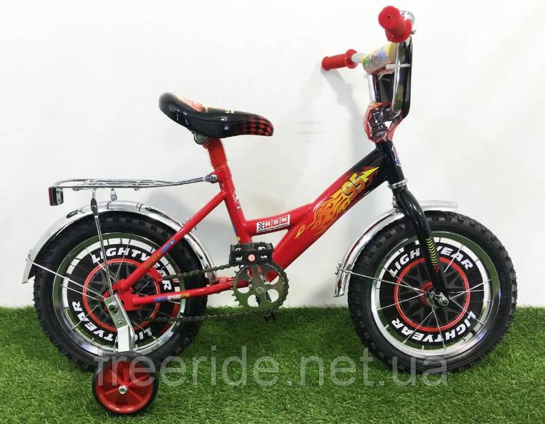 Дитячий Велосипед Mustang Тачки 14