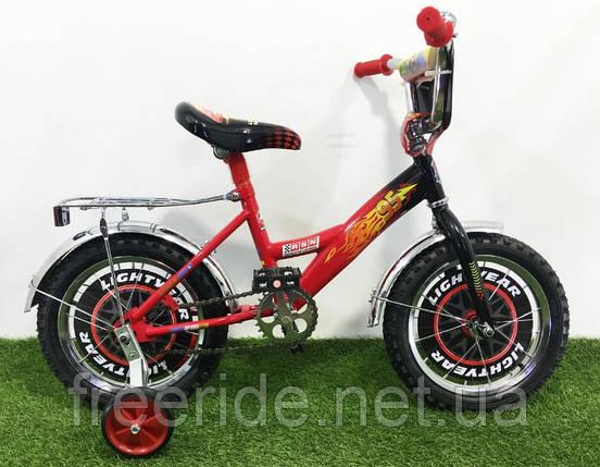 Дитячий Велосипед Mustang Тачки 14, фото 2