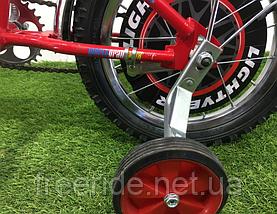 Дитячий Велосипед Mustang Тачки 14, фото 3