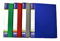 Папка-скоросшиватель А4 пластиковая CLIP А Light,синяя
