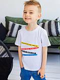 Vikamoda Дитяча футболка з різнобарвним принтом 10027, фото 2