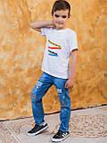 Vikamoda Дитяча футболка з різнобарвним принтом 10027, фото 7