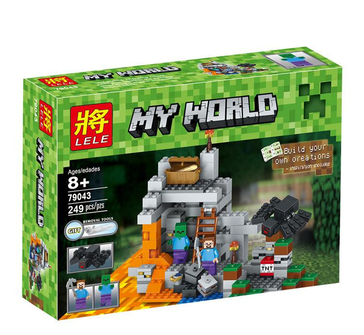 Конструктор Lele Minecraft 79043