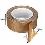 Тефлоновый скотч Huayuan 10м x 40мм x 0.18мм термостойкий для запайщика пакетов PTFE (Vs-001-1040-18), фото 2