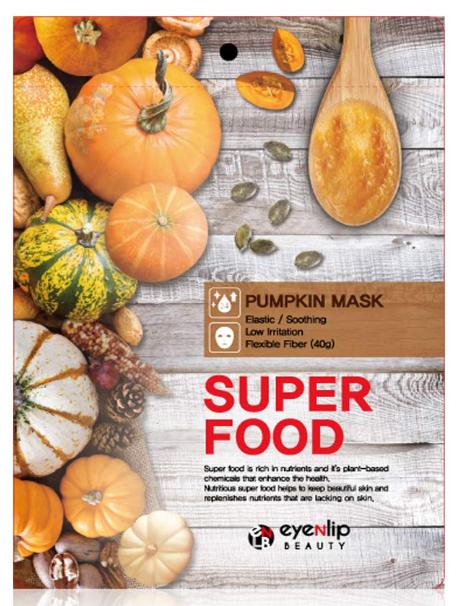 Тканевая маска восстанавливает тургор Eyenlip Super Food Mask Pumpkin 23 мл