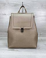 Сумка рюкзак «Луи» золотой, фото 1