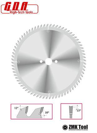 Пила для поперечного різу 300x30x2,5/1,8 z72 з тонким пропилом, фото 2
