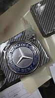 Емблема на багажник Mercedes приціл кузов 124, 202, 210, 220, 211, 212 на 5 кріпленнях