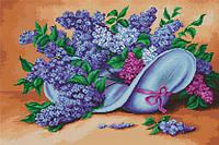 """Набор для вышивания крестом """"Luca-s"""" B464 Сирень"""