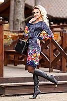 Платье женское синее, фото 1