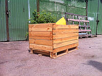 Деревянный контейнер для фруктов и овощей, 760х1200х760