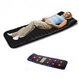 Массажный матрас коврик с подогревом Massage Paradise Массажер для спины и шеи электронный, фото 2