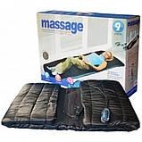 Массажный матрас коврик с подогревом Massage Paradise Массажер для спины и шеи электронный, фото 5