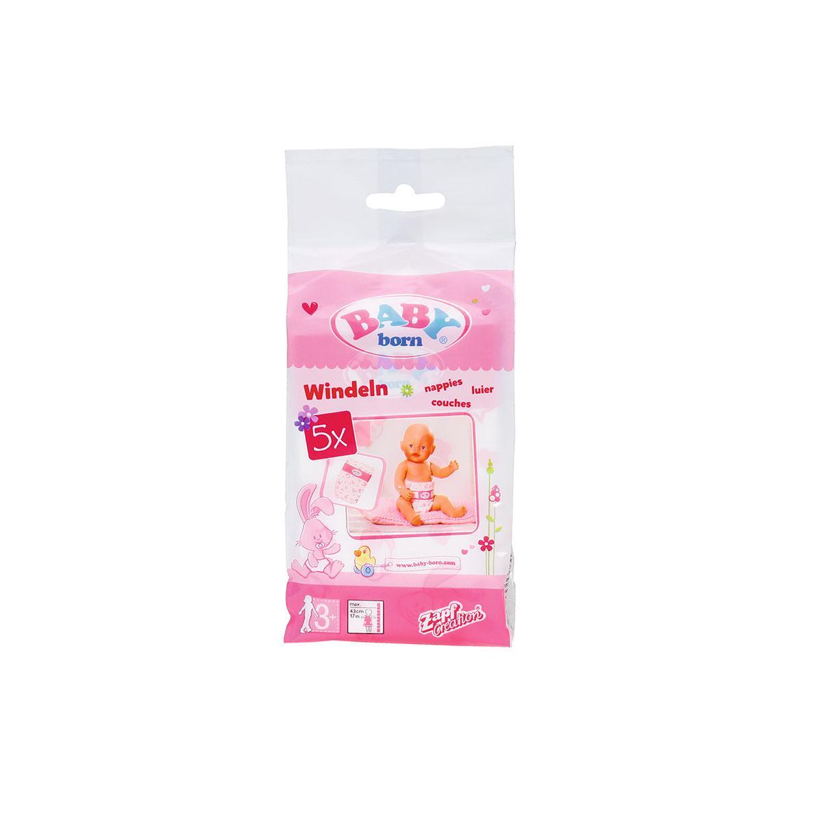 Підгузники Для Ляльки Baby Born 826508
