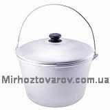 Казан походный алюминиевый с дужкой-6л