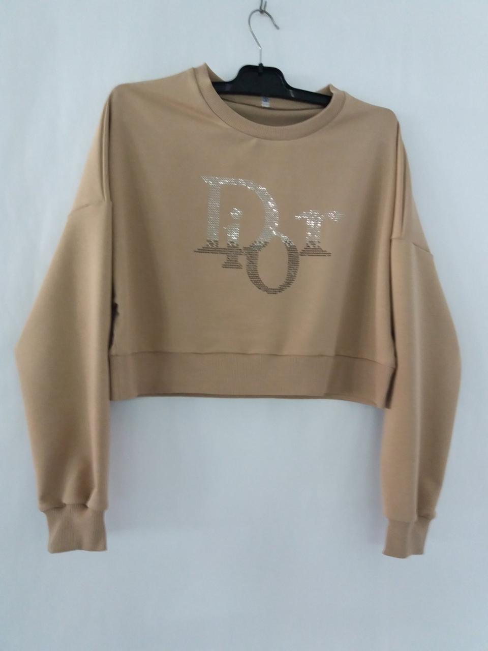 Молодежные женские свитшоты Dior от производителя оптом и в розницу